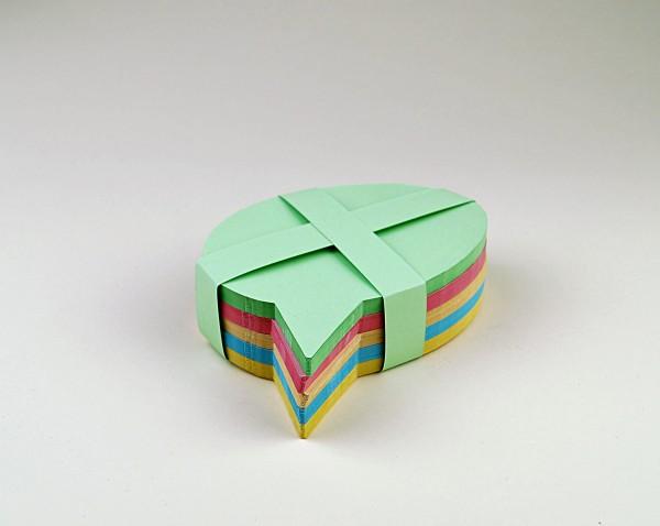 "Moderationskarten ""Sprechblase"" gemischt, 180 Blatt"