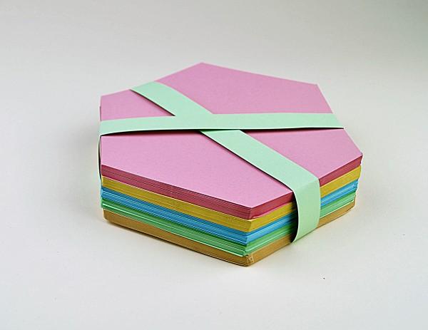"Moderationskarten ""Wabe"" gemischt, 180 Blatt"