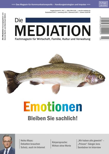 Emotionen – Bleiben Sie sachlich!