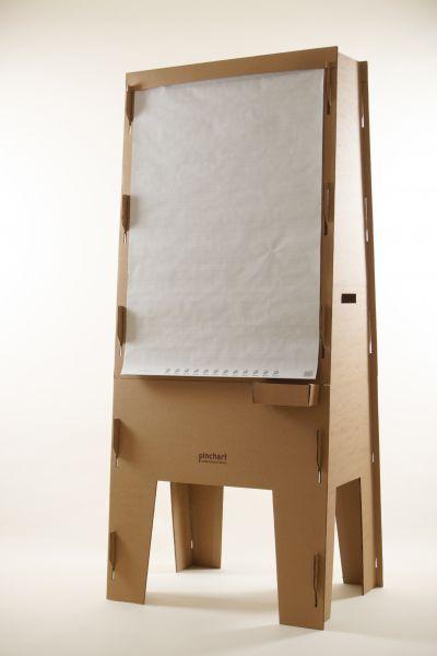Pinchart Pappe – das leichte & mobile Flipchart